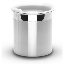 Pote para armazenar com tampa plástica 5,28 litros inox Cucina - Tramontina