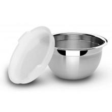 Pote redondo com tampa plástica 1,3 litros inox Cucina - Tramontina