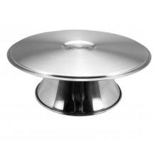 Bailarina (suporte giratório para bolo) alumínio - Doupan