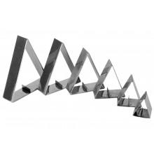 Conjunto de cortadores 6 peças inox Croyssant - Doupan