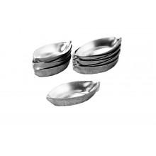 Conjunto de forminhas barquinha 12 peças alumínio - Doupan
