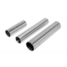 Conjunto de forminhas cilíndricas canola 12 peças 11 cm alumínio - Doupan