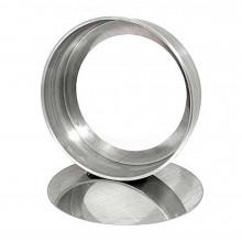 Forma reta com fundo falso 30X5 cm alumínio - Doupan