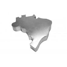 Forma artística Brasil alumínio - Doupan