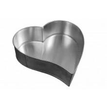 Forma artística Coração pequeno alumínio - Doupan