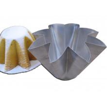Forma Pandoro tipo panetone alumínio - Doupan