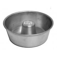Forma para torta suíça 21X8 cm alumínio - Doupan