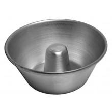 Conjunto de forminhas para torta suíça 12 peças 10,3X9 cm alumínio - Doupan