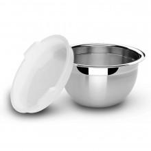 Pote redondo com tampa plástica 3 litros inox Cucina - Tramontina