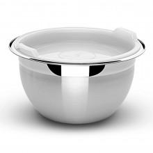 Pote redondo com tampa plástica 8,30 litros inox Cucina - Tramontina