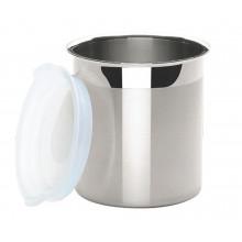 Pote para armazenar com tampa plástica 2,33 litros inox Cucina - Tramontina