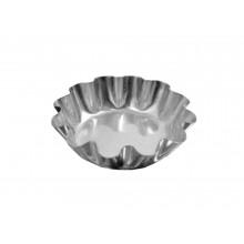 Conjunto de forminhas torteleta 8,8 cm 12 peças alumínio - Doupan
