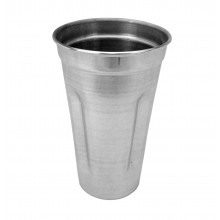 Copo batedor para milk shake alumínio - Doupan