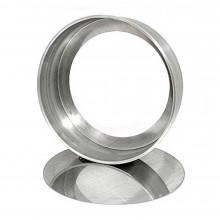 Forma reta com fundo falso 25X5 cm alumínio - Doupan