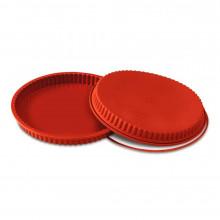 Forma Crostata com anel de segurança 26cm Silicone - Silikomart
