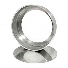 Forma reta com fundo falso 25X7 cm alumínio - Doupan