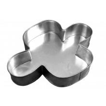 Forma artística Colomba Pascal alumínio - Doupan
