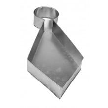 Forma artística Gravata alumínio - Doupan