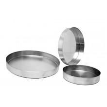 Forma para torta salgada 20X3 cm alumínio - Doupan